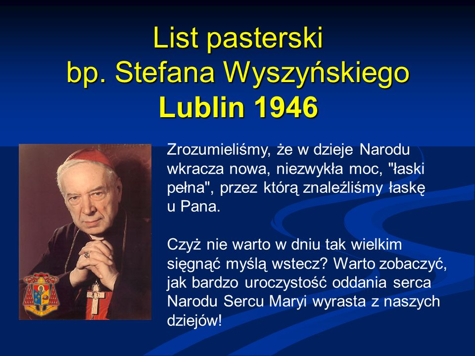 List pasterski bp.