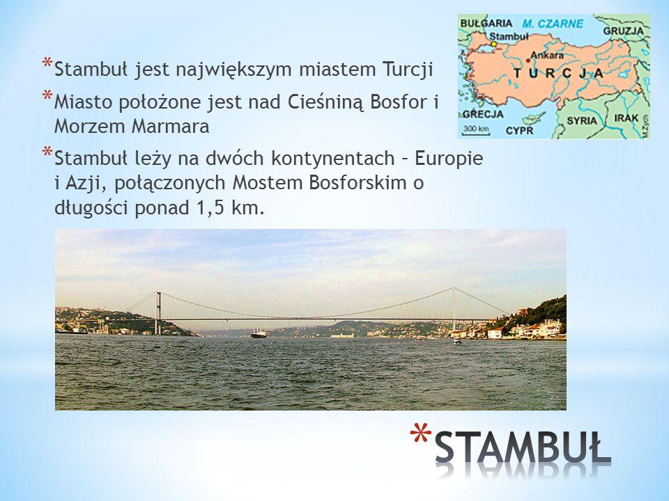 * Kuchnia turecka jest jedną z najsmaczniejszych kuchni świata * Najbardziej znane tureckie specjały to kebab i chałwa