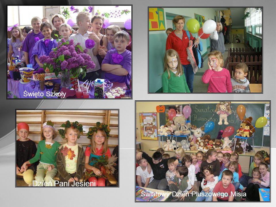 Dzień Pani Jesieni Święto Szkoły Światowy Dzień Pluszowego Misia