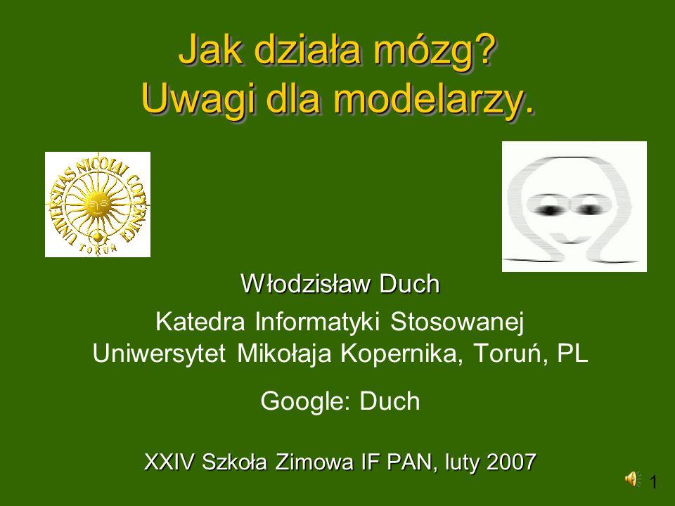 Uczenie się kategorii Kategoryzacja w psychologii - wiele teorii.