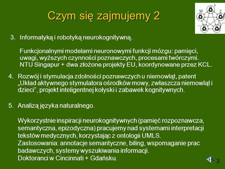 Pamięć epizodyczna Pamięć trwała jest rezultatem stanów atraktorowych minikolumn kory mózgu, zapisana jest w synapsach w sposób rozproszony.