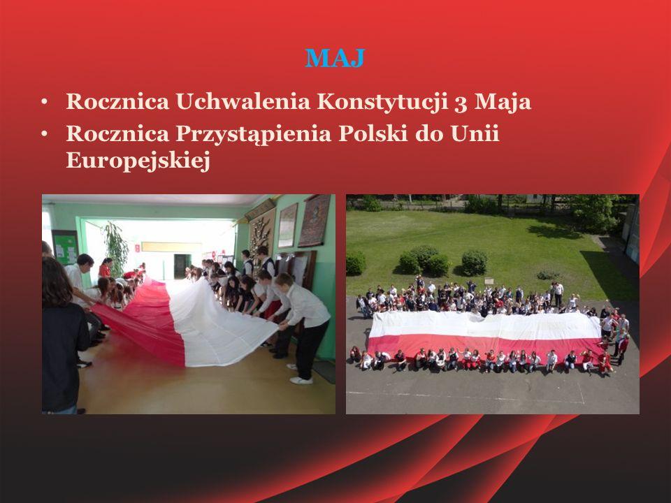 MAJ Rocznica Uchwalenia Konstytucji 3 Maja Rocznica Przystąpienia Polski do Unii Europejskiej