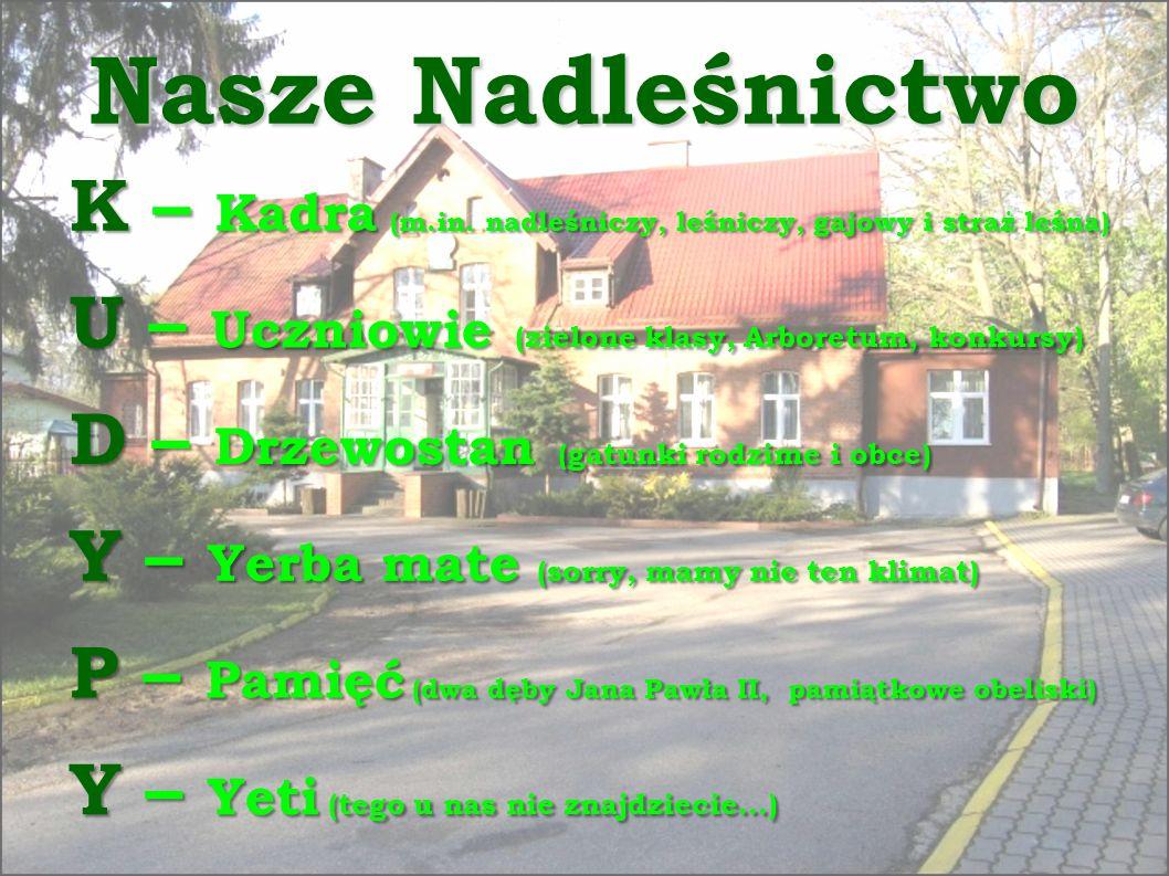 Nasze Nadleśnictwo K – Kadra (m.in.