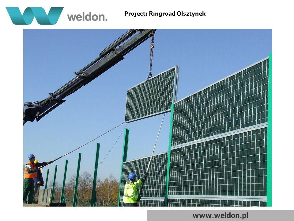 www.weldon.pl Project: Ringroad Olsztynek
