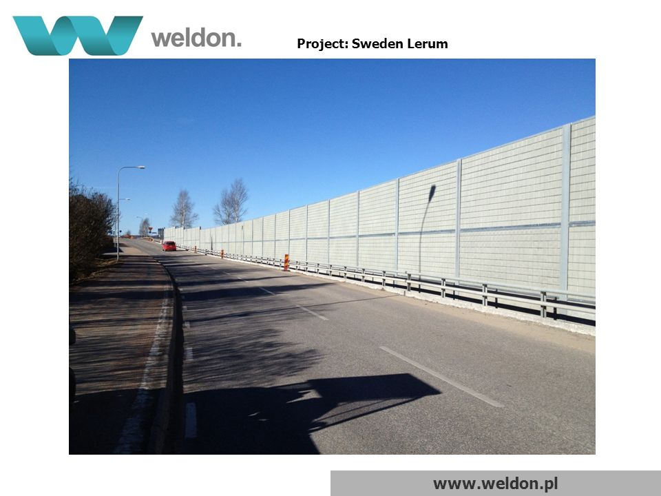 www.weldon.pl Project: Sweden Lerum