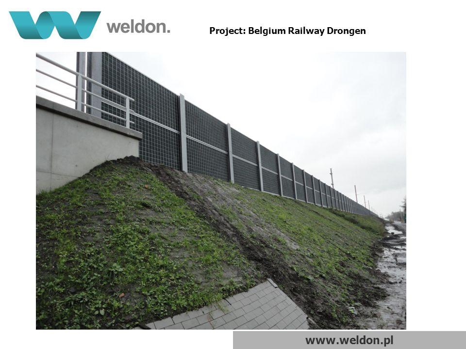 www.weldon.pl Project: Belgium Railway Drongen