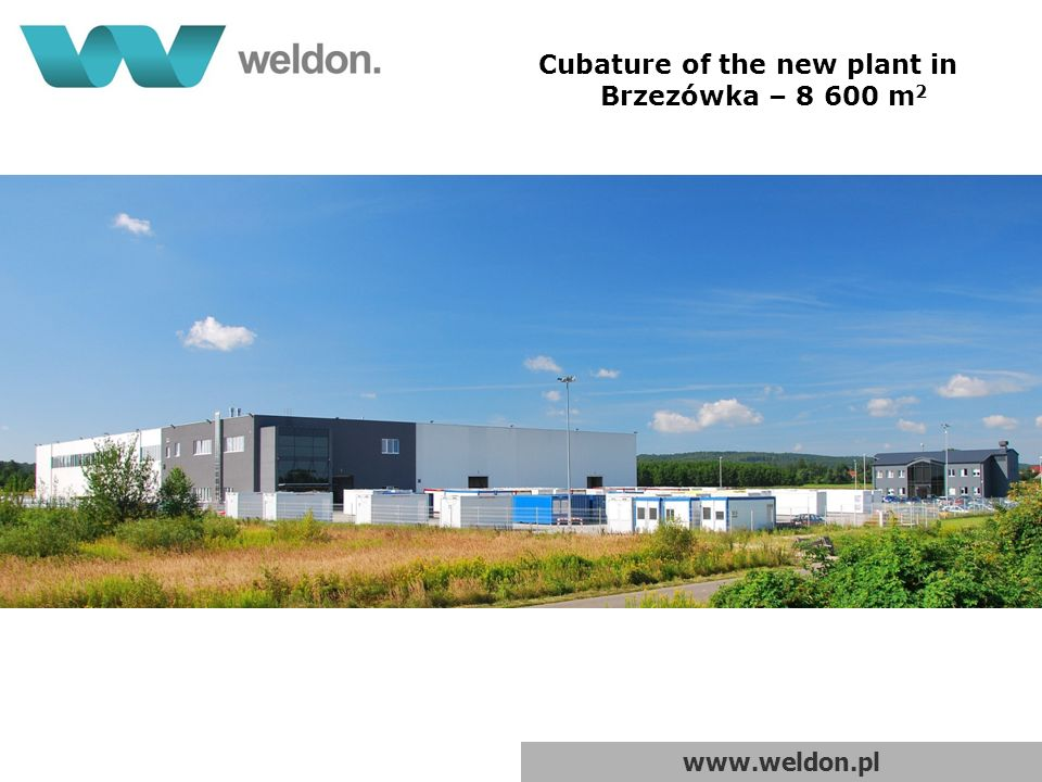 www.weldon.pl Acoustic screens of Green Wall technical solutions