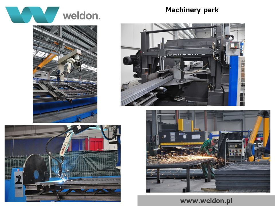 www.weldon.pl Machinery park