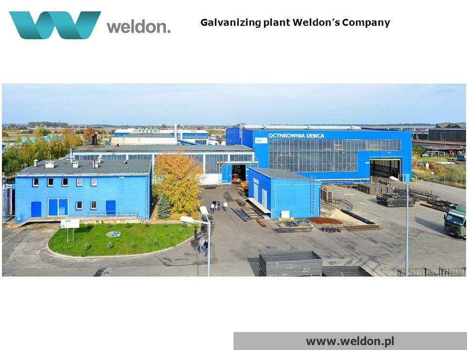 www.weldon.pl Galvanizing plant Weldon's Company