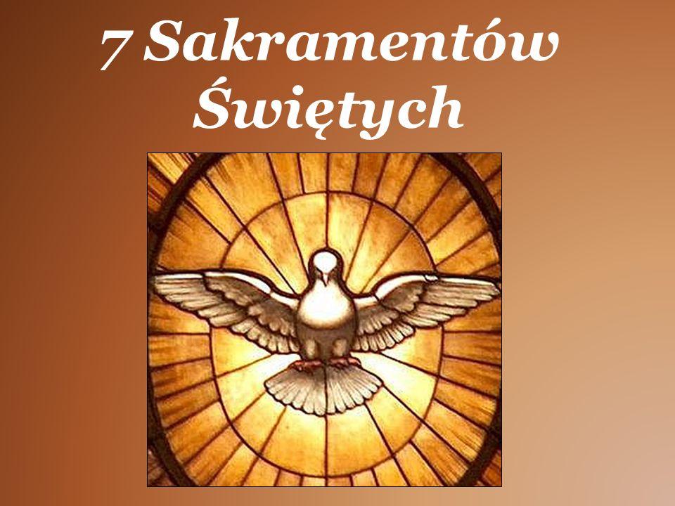 """Sakramenty Sakramenty (w łacinie kościelnej sacramentum — """"tajemnica religii ; od późnołacińskiego sacramentum — """"przysięga wierności , np."""