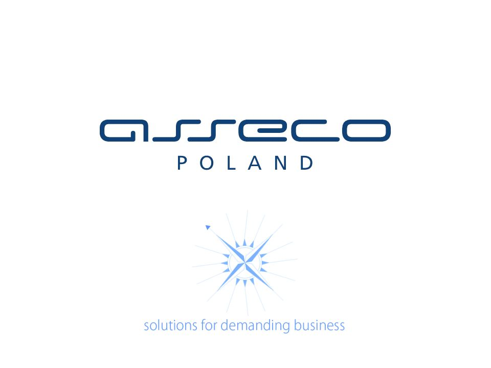 solutions for demanding business Zastrzeżenia prawne Zawartość dostępna w prezentacji jest chroniona prawem autorskim i stanowi przedmiot własności.