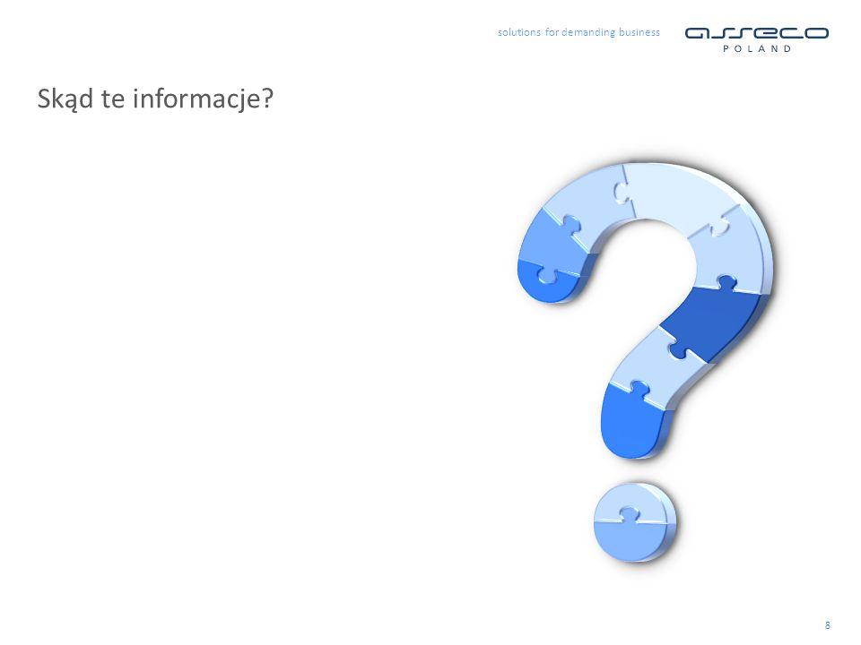 8 Skąd te informacje?