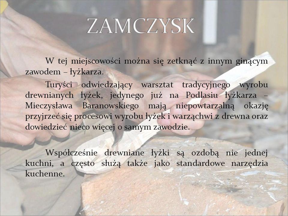 Janów jest jedynym w Polsce ośrodkiem kultywującym oryginalną technikę tkactwa dwuosnowowego.
