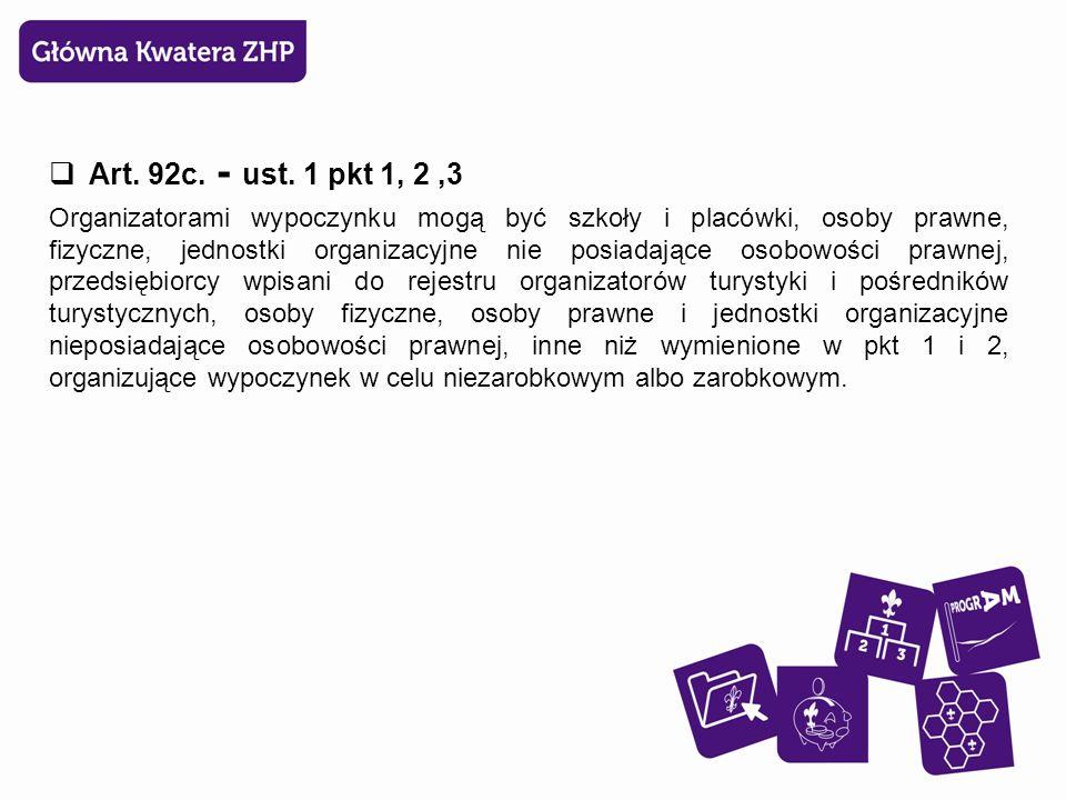 Rozporządzenie na podstawie art.92t ustawy z dnia 7 września 1991 r.