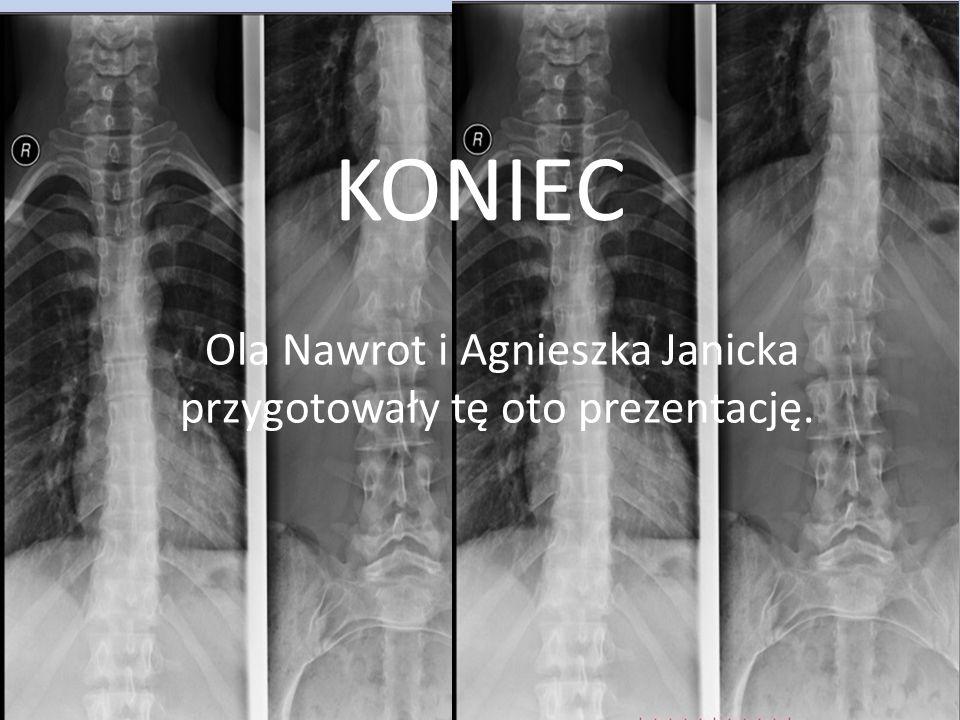 KONIEC Ola Nawrot i Agnieszka Janicka przygotowały tę oto prezentację..