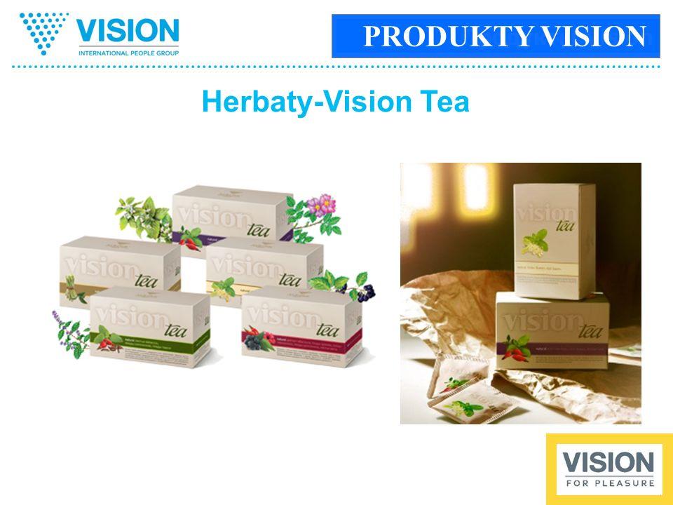 Продукты Vision Herbaty-Vision Tea PRODUKTY VISION
