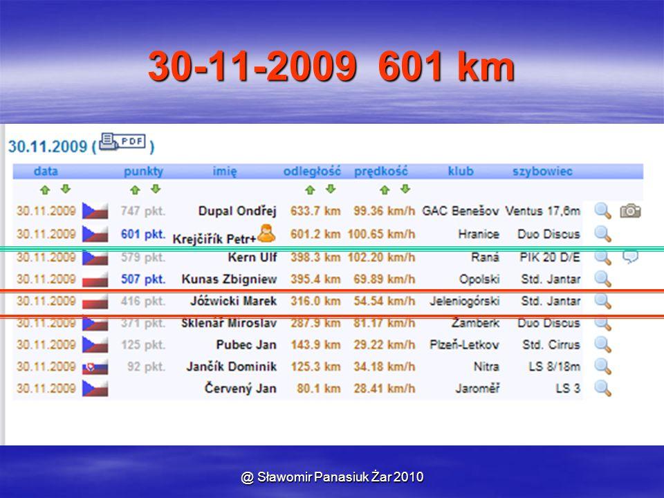 30-11-2009 601 km
