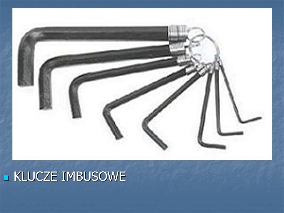 KLUCZE IMBUSOWE