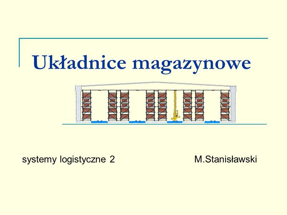 Układnice magazynowe systemy logistyczne 2M.Stanisławski
