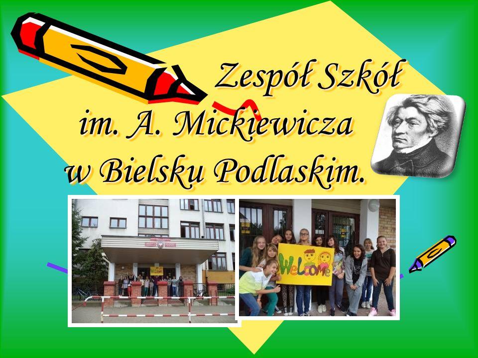 Zespół Szkół im. A. Mickiewicza w Bielsku Podlaskim.