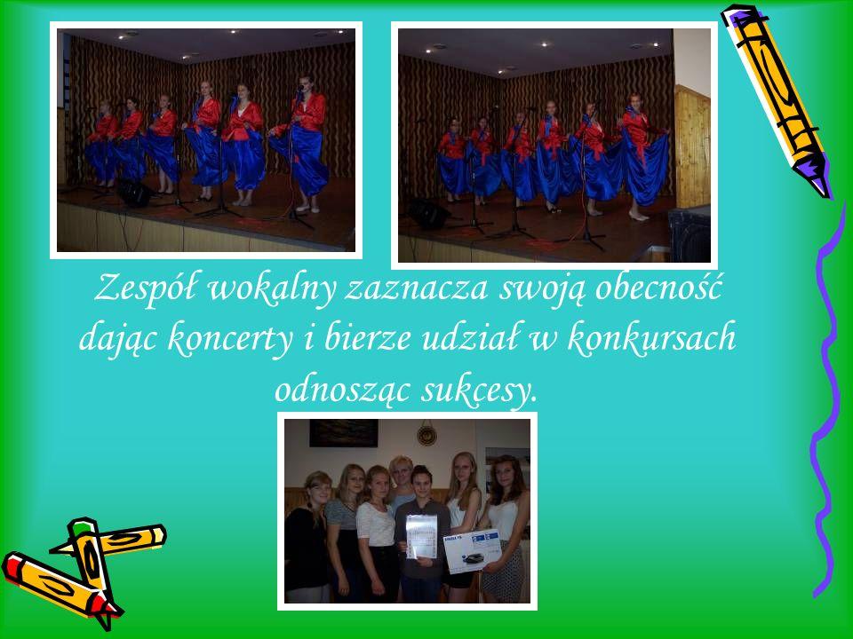 Zespół wokalny zaznacza swoją obecność dając koncerty i bierze udział w konkursach odnosząc sukcesy.