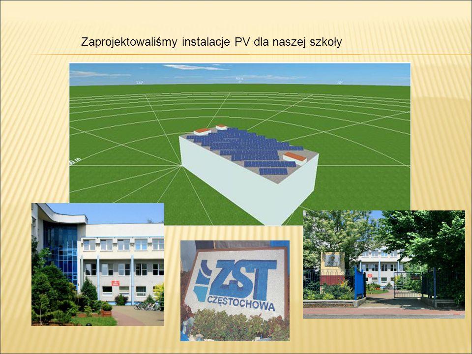 Zaprojektowaliśmy instalacje PV dla naszej szkoły