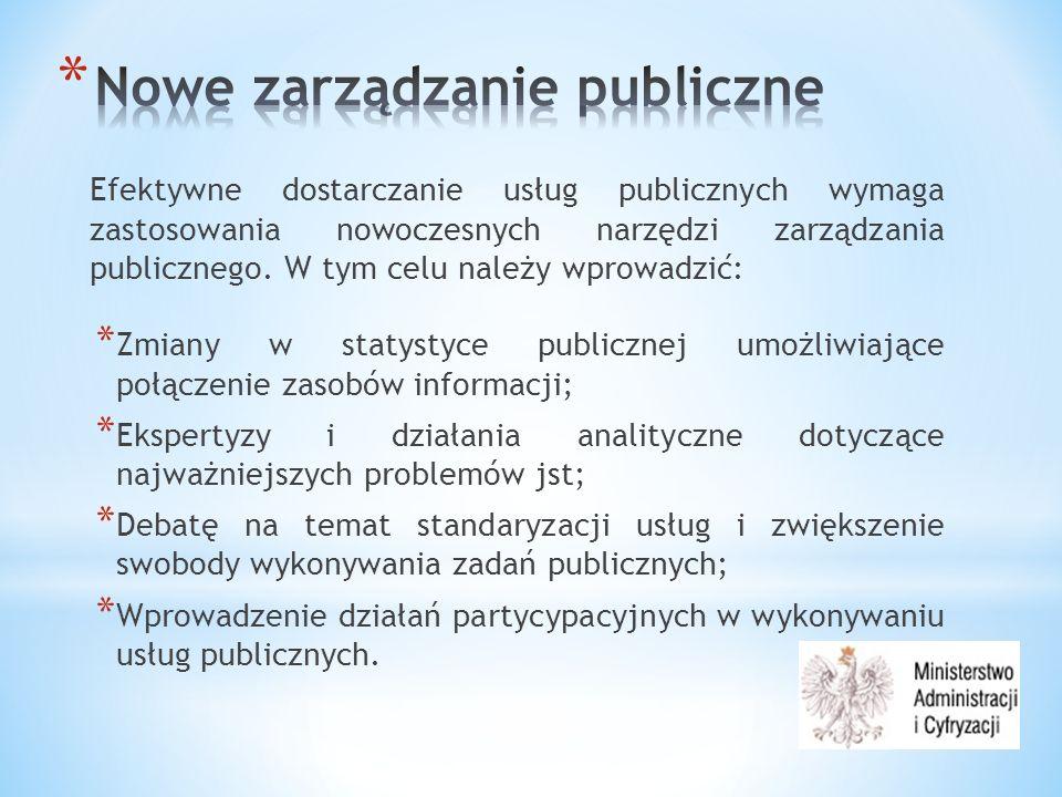 Informatyzacja administracji publicznej jest niemożliwa bez współpracy z jst.