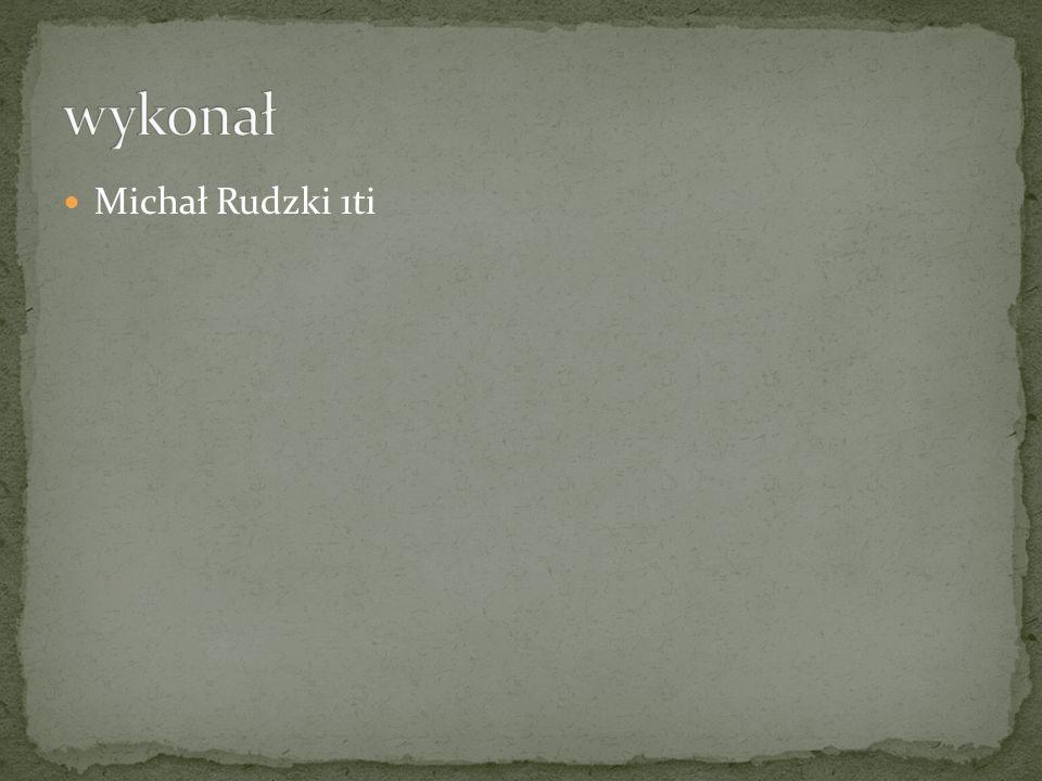 Michał Rudzki 1ti