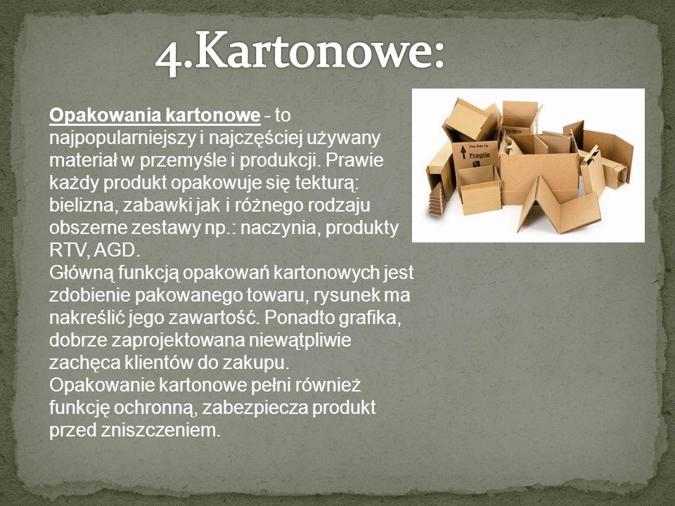 Opakowania kartonowe - to najpopularniejszy i najczęściej używany materiał w przemyśle i produkcji.