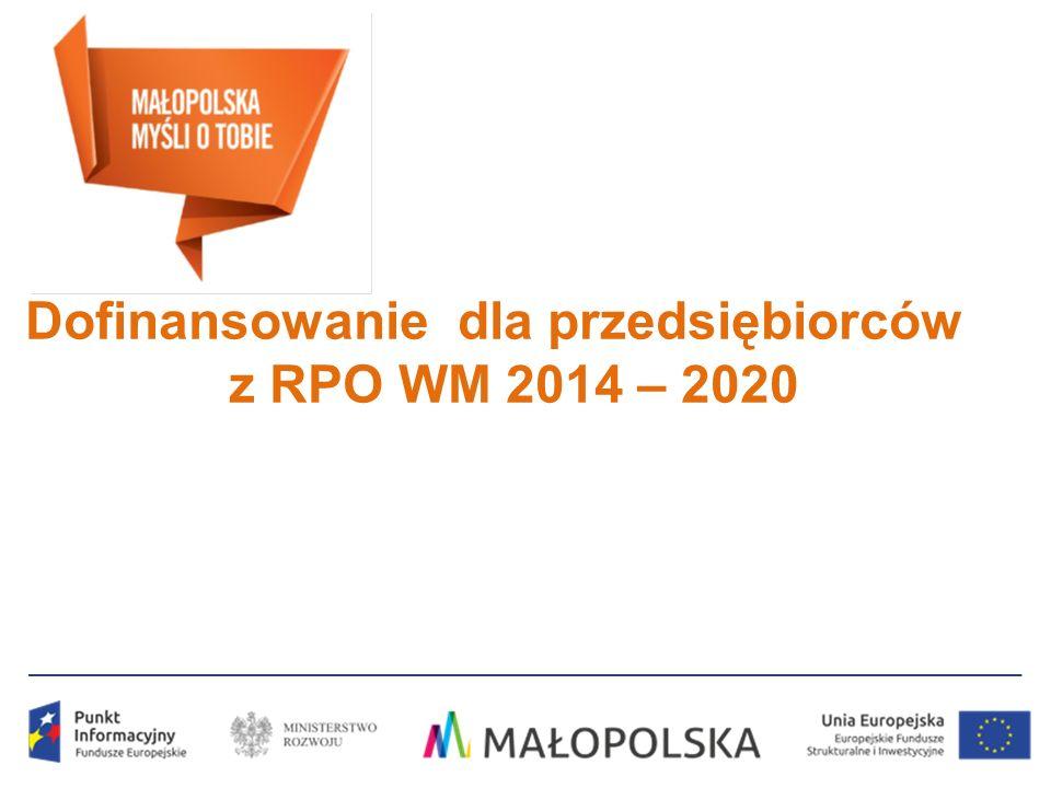 Dofinansowanie dla przedsiębiorców z RPO WM 2014 – 2020