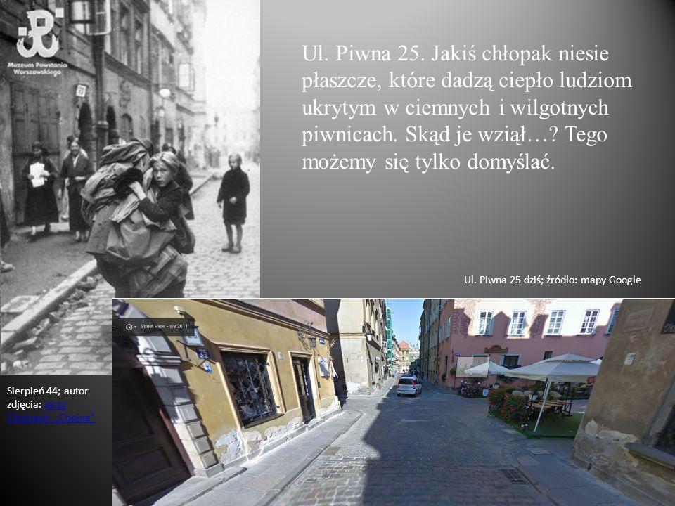 Ul. Piwna 25.