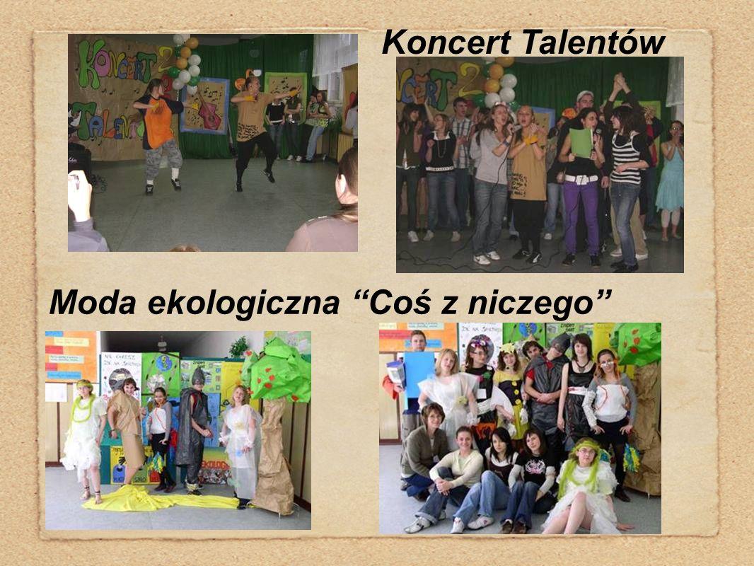 """Koncert Talentów Moda ekologiczna """"Coś z niczego"""""""