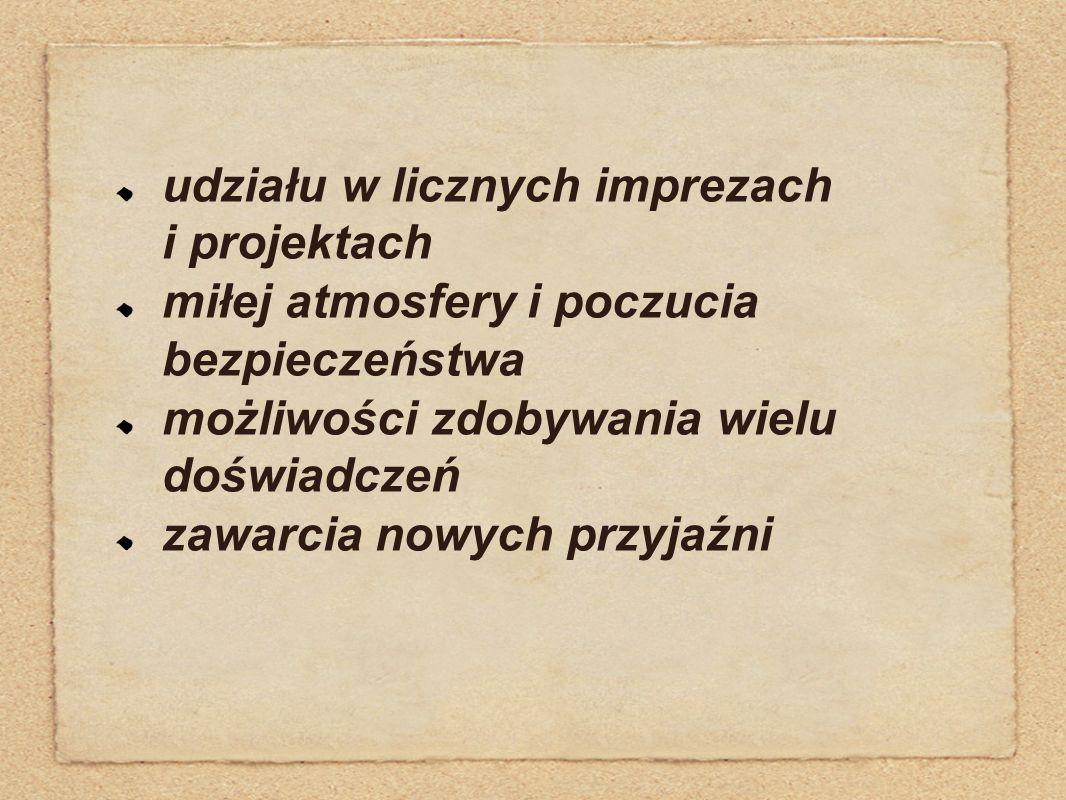 Międzyszkolny konkurs Piotrkowska - ulicą czterech kultur Obejrzyjcie krótki fotoreportaż z niektórych imprez...