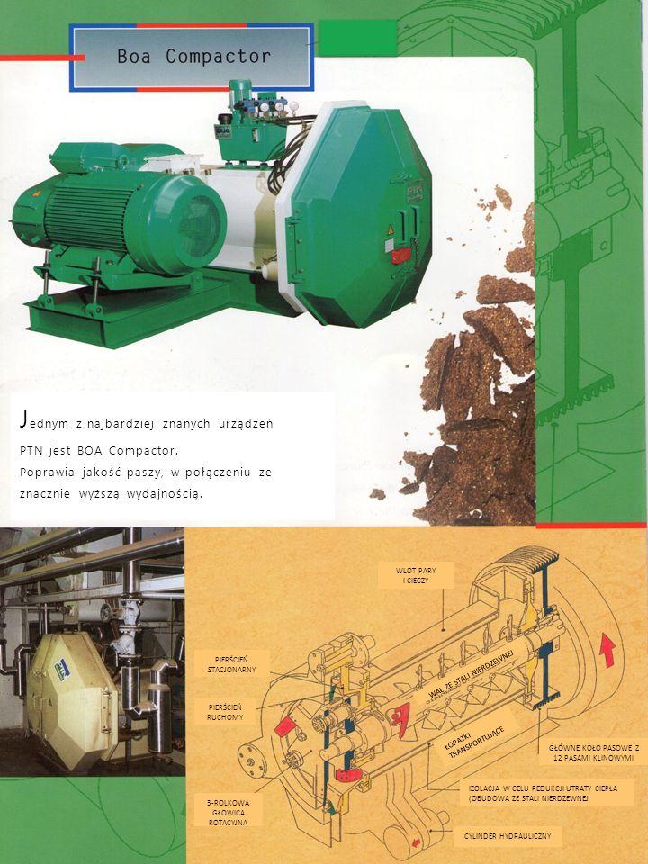 Granulator W ciągu ostatnich 30 lat PTN rozwinął i ulepszył swoje Granulatory.