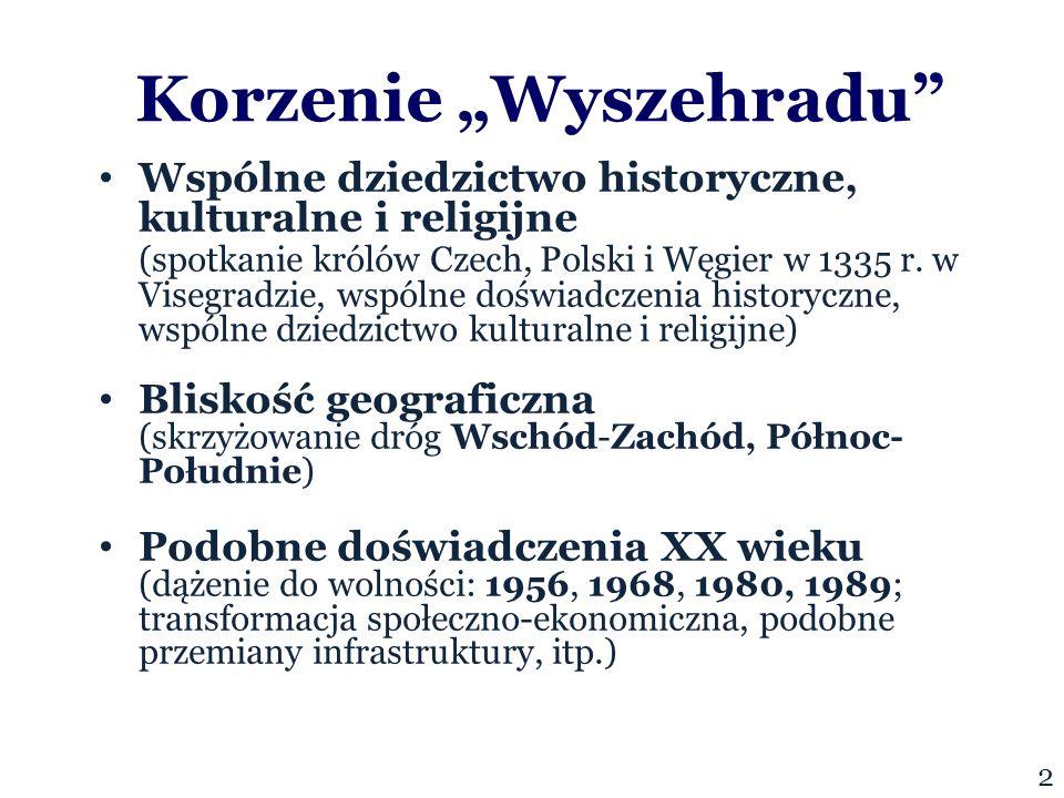"""Korzenie """"Wyszehradu Wspólne dziedzictwo historyczne, kulturalne i religijne (spotkanie królów Czech, Polski i Węgier w 1335 r."""