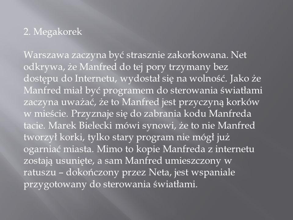 2. Megakorek Warszawa zaczyna być strasznie zakorkowana.