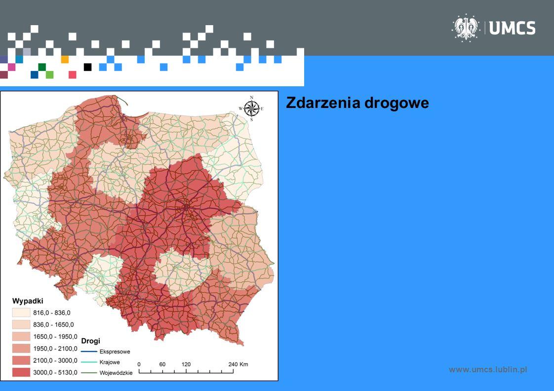 www.umcs.lublin.pl Zdarzenia drogowe