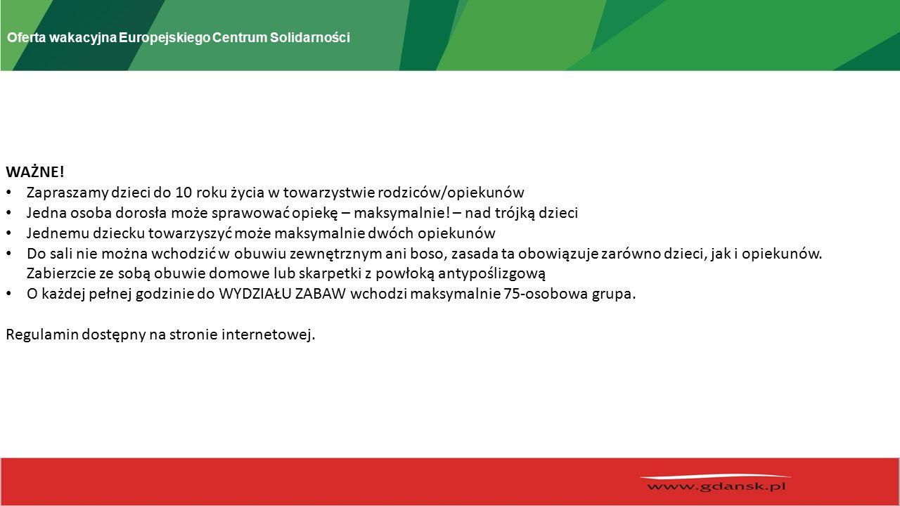 Oferta wakacyjna Europejskiego Centrum Solidarności ZROZUMIEĆ SIERPIEŃ 2016 termin | 14-31 sierpnia miejsce | Gdańsk wstęp | wolny Projekt ZROZUMIEĆ SIERPIEŃ to przestrzeń do kreowania wspólnej nowej rzeczywistości.