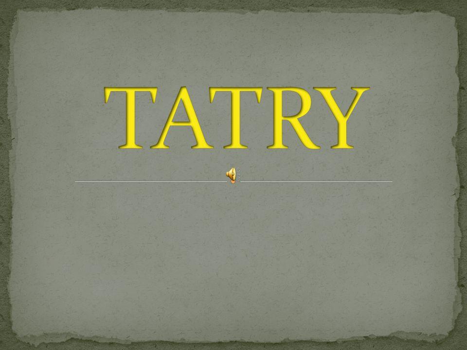 Tatry, leżą na pograniczu Polski i Słowacji.