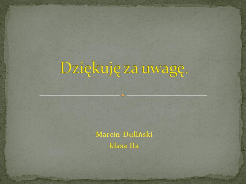 Marcin Duliński klasa IIa