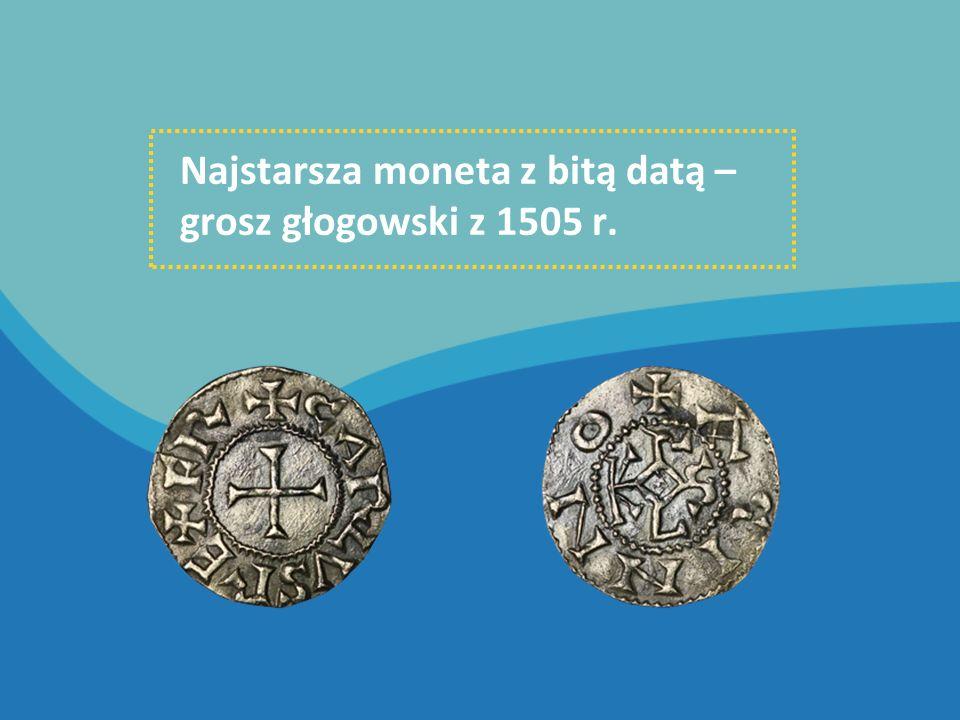Pieniądze używane obecnie MONETY wybijane są z metalu w Mennicy Polskiej.