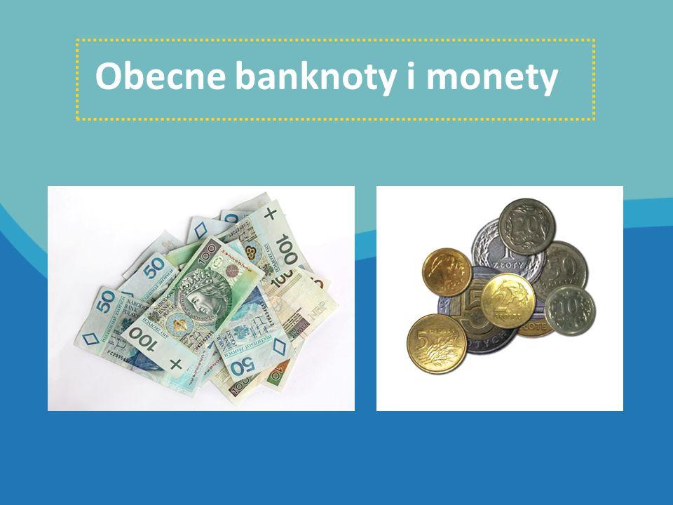 Obecne banknoty i monety