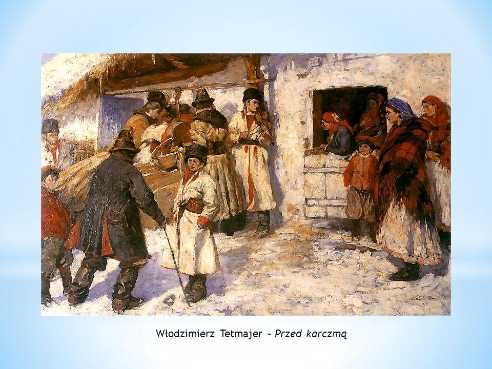 Włodzimierz Tetmajer – Przed karczmą
