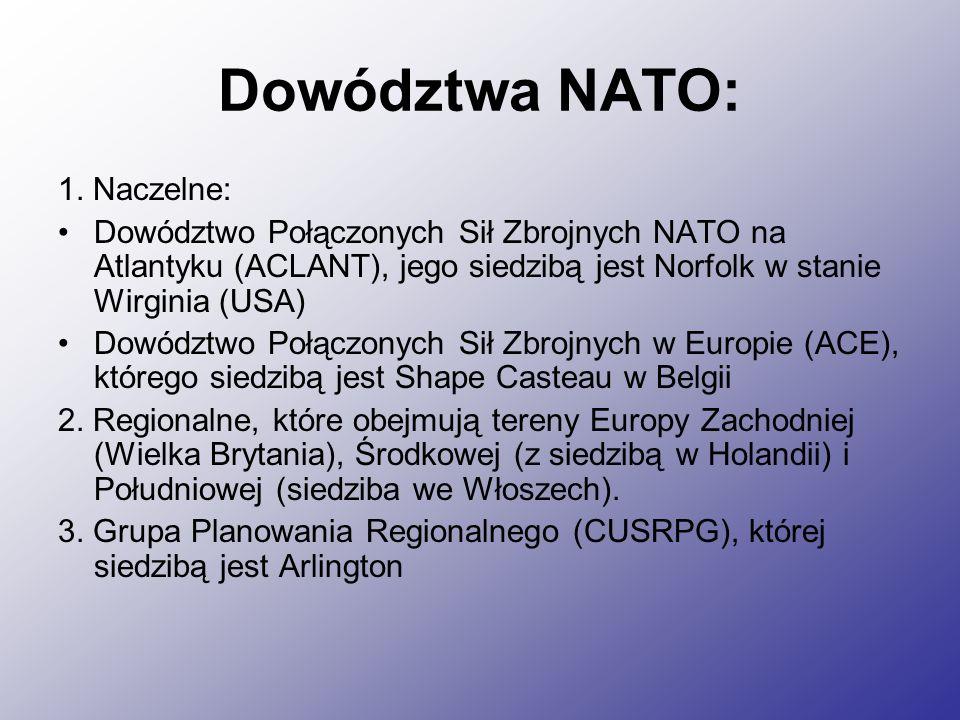 Dowództwa NATO: 1.