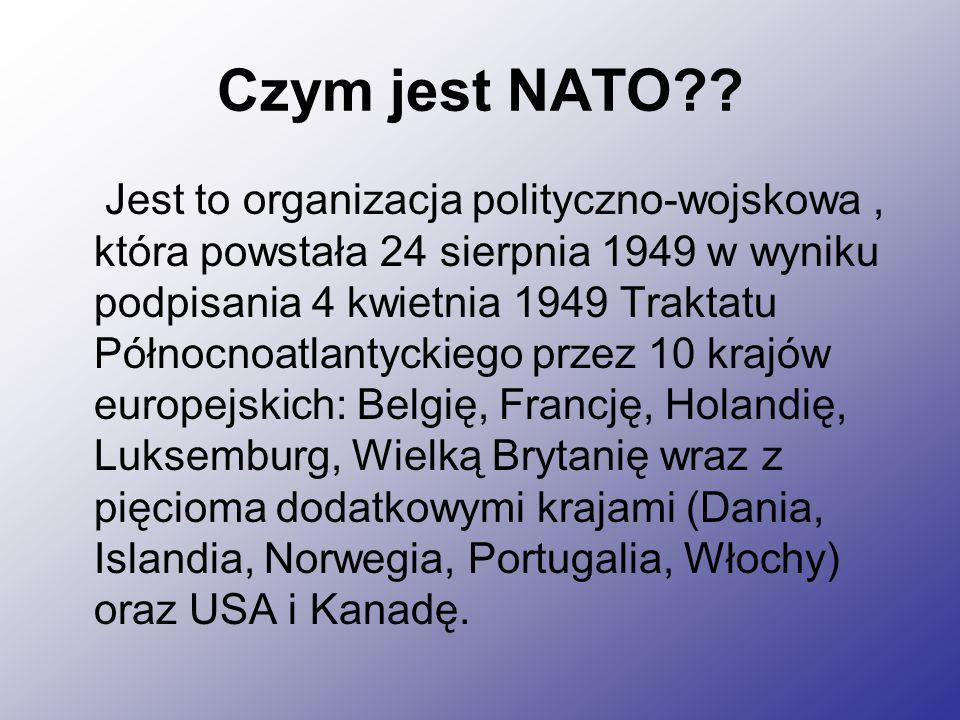 Czym jest NATO?.