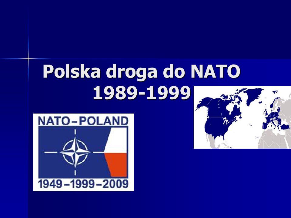 Polska droga do NATO 1989-1999