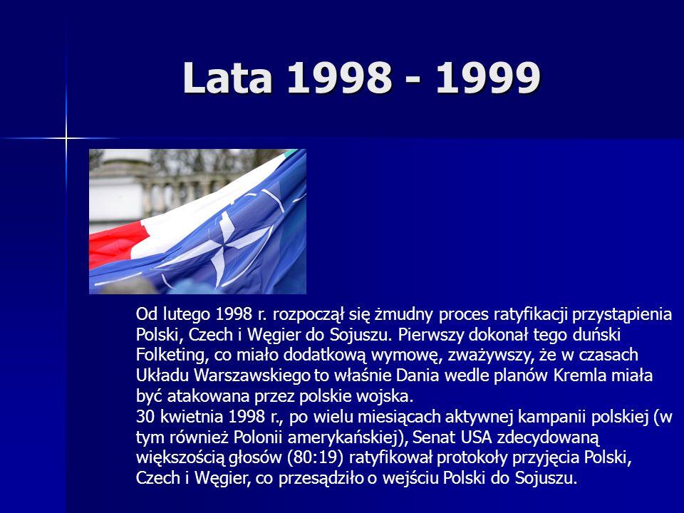 Lata 1998 - 1999 Od lutego 1998 r.
