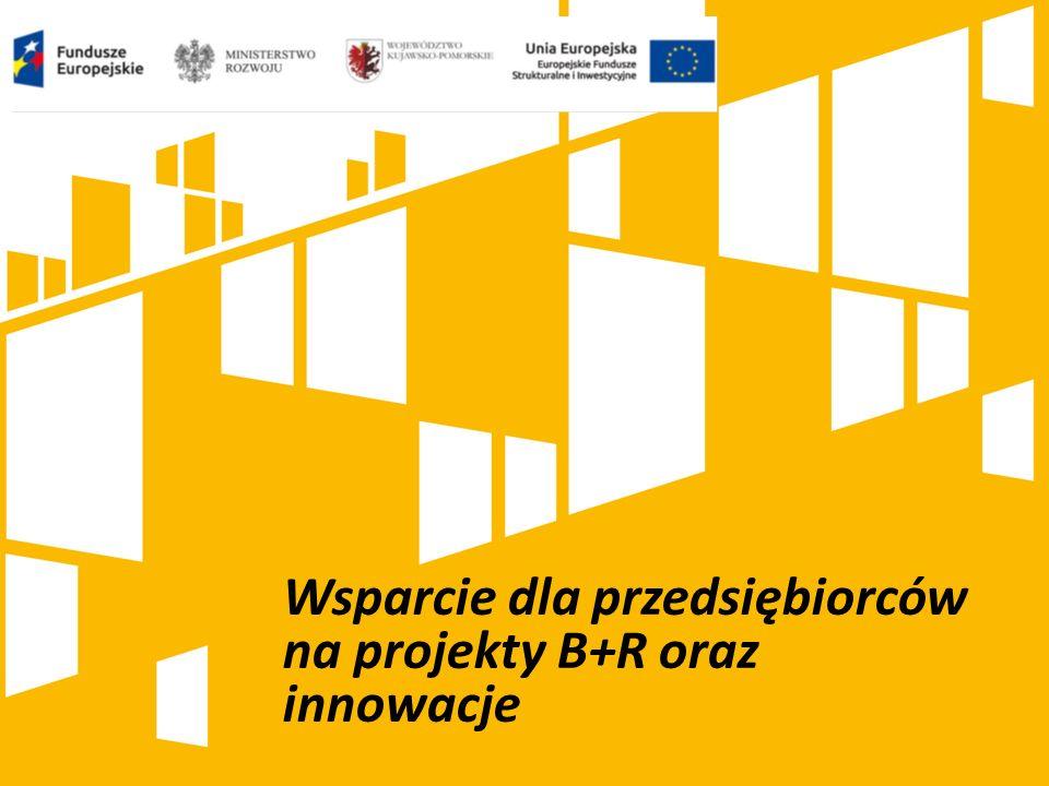 Wsparcie dla przedsiębiorców na projekty B+R oraz innowacje