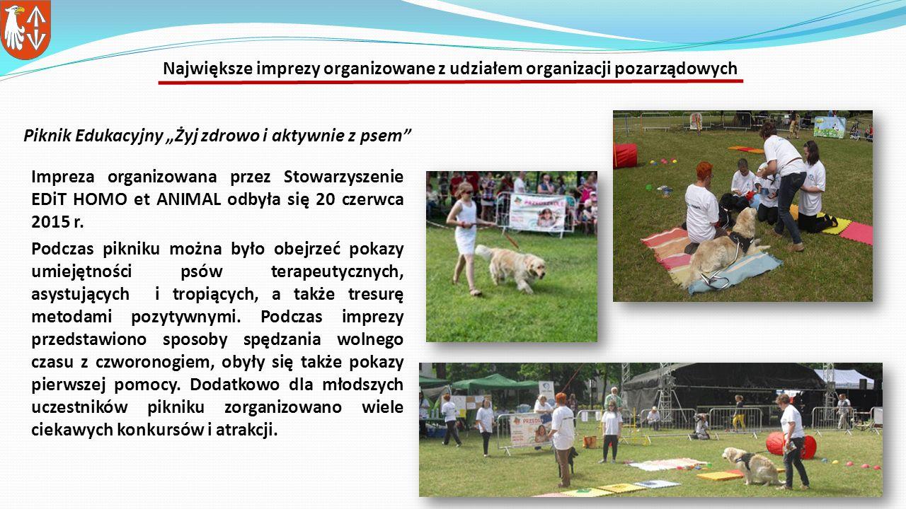 Impreza organizowana przez Stowarzyszenie EDiT HOMO et ANIMAL odbyła się 20 czerwca 2015 r.