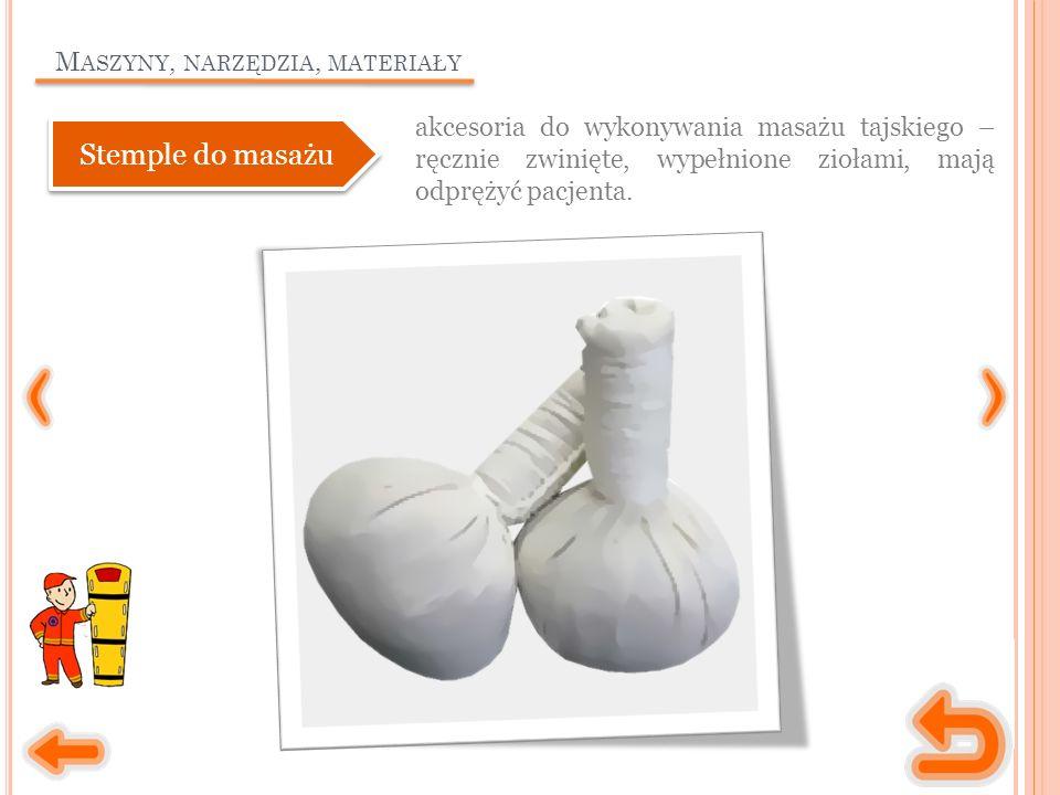 M ASZYNY, NARZĘDZIA, MATERIAŁY gumowe bańki, służące do wykonywania masażu relaksującego, odchudzającego, antycelulitowego.